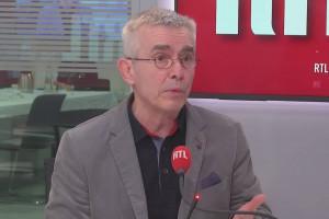 Le secrétaire général de Force Ouvrière (FO), Yves Veyrier, sur RTL le 28 janvier 2021