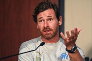 André Villas-Boas à Marseille le 13 août 2020