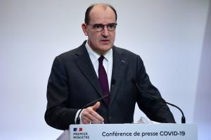 Jean Castex lors d'une conférence de presse le 4 février 2021