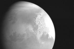 Le premier cliché réalisé par la sonde chinoise Tianwen-1 au-dessus de Mars