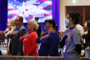 Conférence d'action politique conservatrice, le 28 février 2021 à Orlando, en Floride.