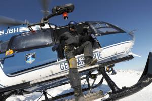 Un hélicoptère de la gendarmerie (illustration).