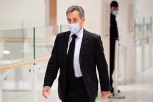 Nicolas Sarkozy au tribunal le 8 décembre 2020