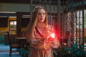 """Wanda (Elizabeth Olsen) dans """"WandaVision"""""""