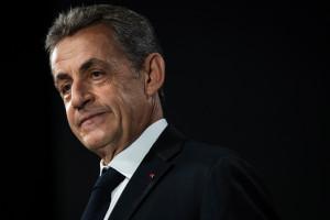 """L'ancien président Nicolas Sarkozy, condamné à trois ans de prison, dont un ferme, dans l'affaire des """"écoutes""""."""