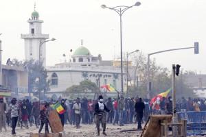 Des manifestations à Dakar au Sénégal le 5 mars 2021