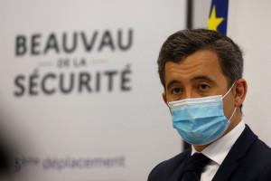Le ministre de l'Intérieur Gérald Darmanin au Beauvau de la sécurité le 5 mars 2021.