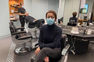 Sarah Daniel-Hamizi est barbière depuis 25 ans.