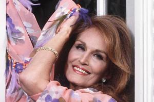 Photo prise le 5 mai 1985 de Dalida