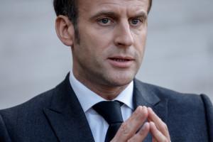 Emmanuel Macron, le 23 mars 2021