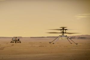 La Nasa veut prouver au monde qu'il est possible de voler ailleurs que sur Terre avec l'hélicoptère Ingenuity