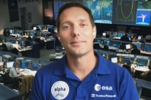 Thomas Pesquet au Johnson Space Center de Houston en avril 2021