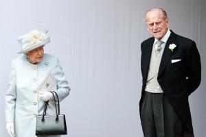 Elizabeth II et son époux le prince Philip en octobre 2018