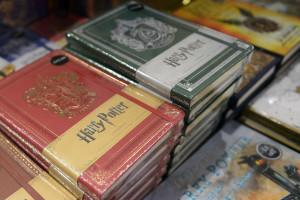"""Les livres de la saga """"Harry Potter"""" (illustration)."""