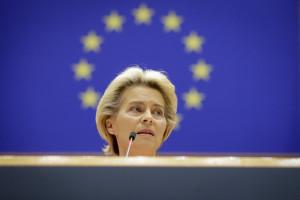 La présidente de la Commission européenne, Ursula Von Der Leyen, à Bruxelles le 16 septembre 2020.