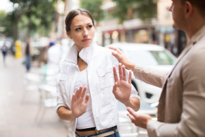 Du harcèlement de rue (illustration)