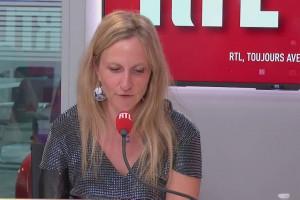 Priscille Deborah, première femme bionique en France, le 22 avril 2021 à RTL