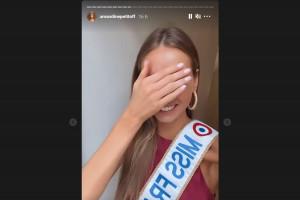 Amadine Petit très émue de partir aux États-Unis pour Miss Univers 2021