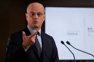 Jean-Michel Blanquer, ministre de l'Éducation nationale, le 22 avril 2021