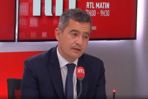 """Gérald Darmanin réagit à la nouvelle tribune """"de militaires"""""""