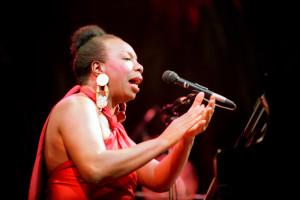 Nina Simone en concert à Paris en 1991