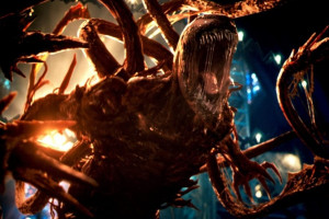 "Le symbiote Carnage dans ""Venom : Let There Be Carnage"""