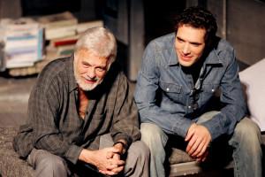 Guy et Nicolas Bedos en 2005 à Paris