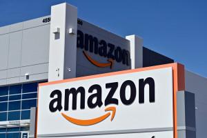 Un centre de distribution Amazon, le 25 avril 2020, à Las Vegas dans le Nevada, aux États-Unis. (Illustration)