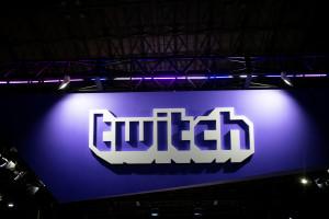 Le logo de la plateforme Twitch.