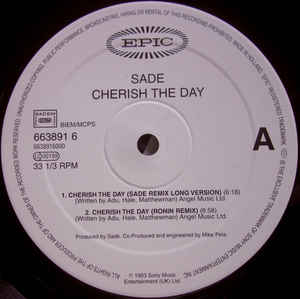 Cherish the day - SADE