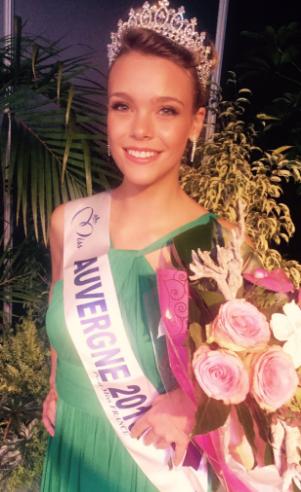 Océane Faure, Miss Auvergne 2016