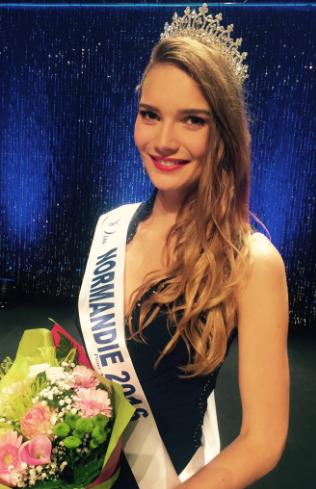 Esther Houdement, Miss Normandie 2016
