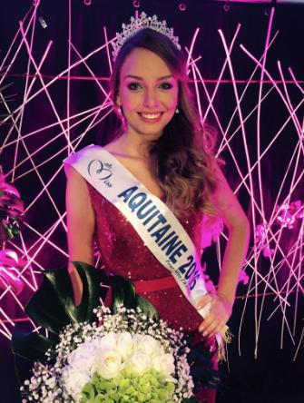 Axelle Bonnemaison, Miss Aquitaine 2016