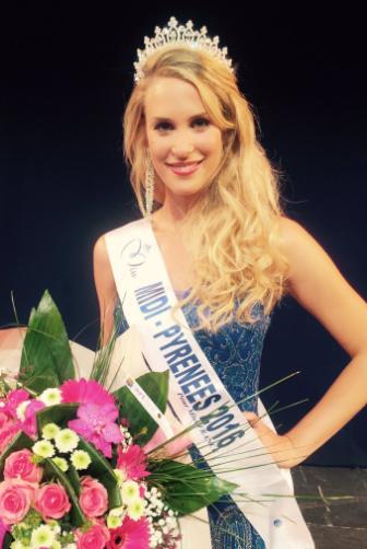 Virginie Guillin, Miss Midi-Pyrénées 2016