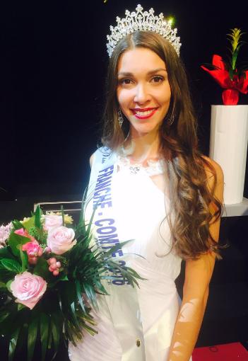 Mélissa Nourry, Miss Franche-Comté 2016