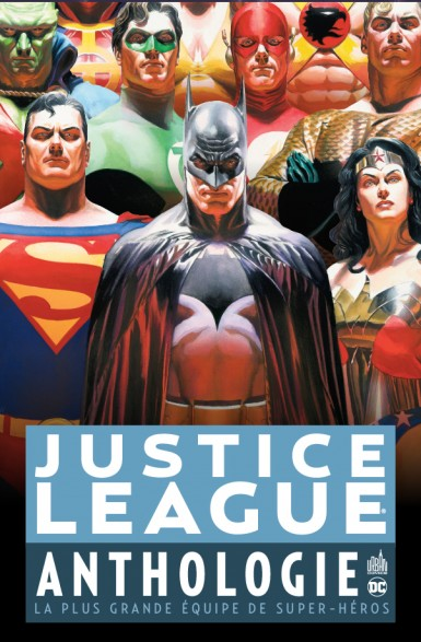 Ceux qui préfèrent Batman et ses compères trouveront leur bonhuer dans l'anthologie justice League (25 euros)