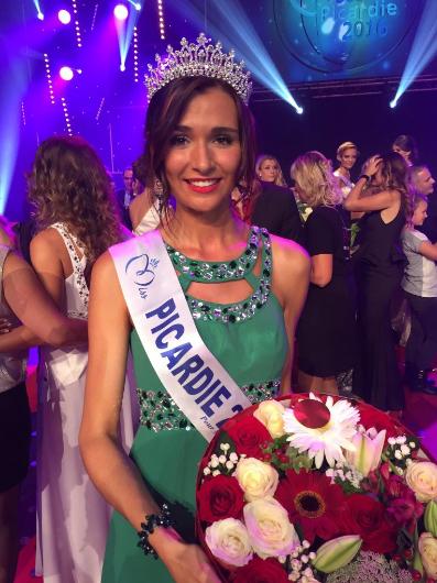 Myrtille Cauchefer, Miss Picardie 2016