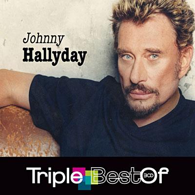 """Le """"Triple Best Of"""" de Johnny Hallyday pour retrouver les plus grandes chansons du rockeur disparu en cette fin d'année 2017 (14€)"""