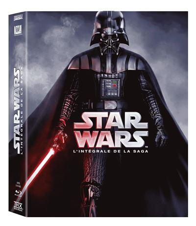 """L'indispensable coffret de la saga """"Star Wars""""  des épisodes 1 à 6 (65 euros)"""