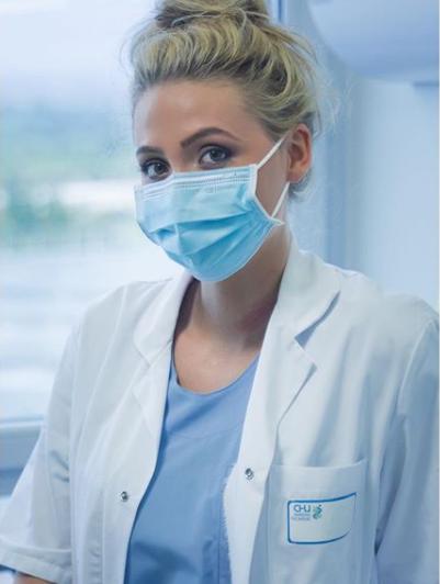 La jeune femme de 21 ans est actuellement en quatrième année de médecine à Amiens