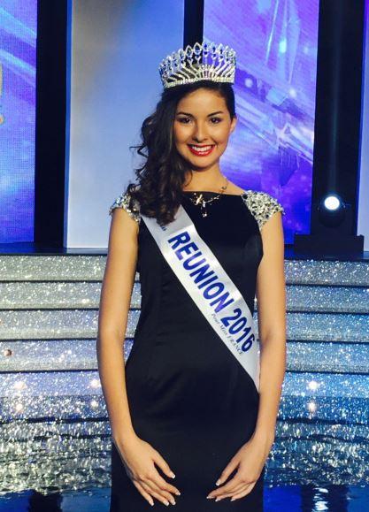 Ambre Nguyen, Miss Réunion 2016