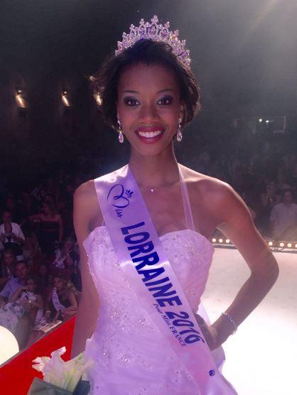 Justine Kamara, Miss Lorraine 2016