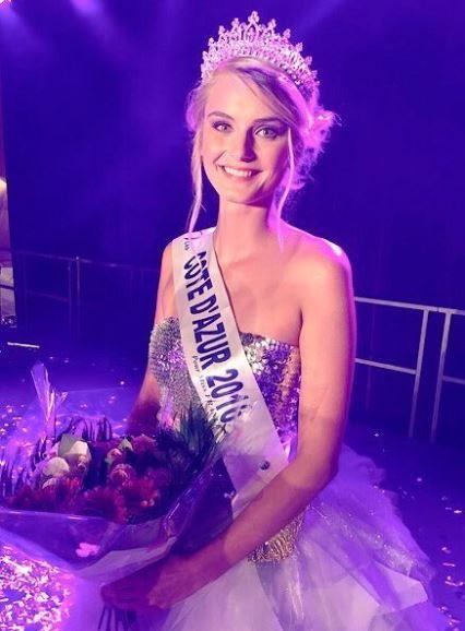 Maria Pavelin, Miss Côte d'Azur 2016