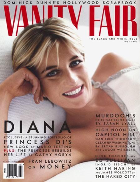 La princesse Diana, juillet 1997