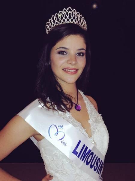 Emma Bourroux représentera le Limousin lors de la soirée Miss France
