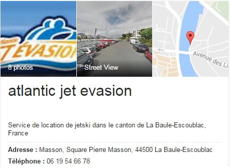 Infos Atlantic Jet Evasion