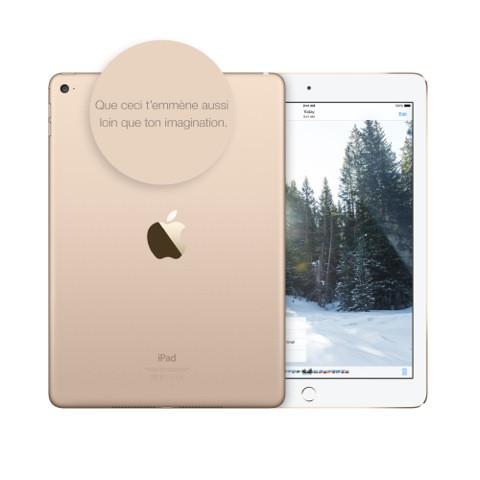 La gravure, de deux lignes maximum, est offerte par la marque à la pomme.