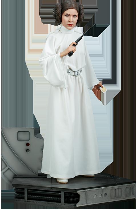 """La figurine inédite de la princesse Leia dans """"La Guerre des Étoiles"""" (550 dollars)"""