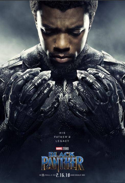 T'Challa, alias Black Panther (Chadwick Boseman)