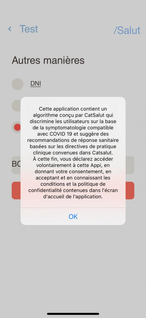 STOP COVID19 CAT est une application catalane